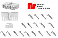 18 Pin Connector Plug Federal Signal Smart Controller Ssp3000 2000 Convergence