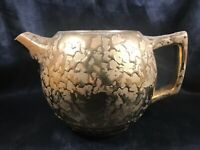 Vintage MCCOY POTTERY Teapot Weeping Gold No Lid