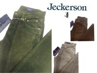 JECKERSON Uomo Pantalone Jenas, Mod. CON TOPPA ALCANTARA, 210 LISTINO, VELLUTO