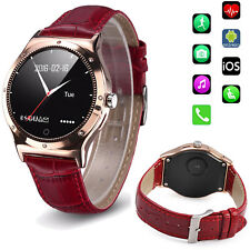 Women Bluetooth Smart Watch Wristwatch SMS Calls Sync Watch For Android iPhone