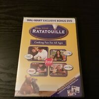 Ratatouille Cooking Fun For All Ages (DVD) Wal-Mart Bonus DVD - Disney Movie