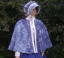 Ladies Victorian CAPE  costume fancy dress UK size 16-20 Blue