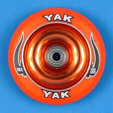 YAK Scooter Wheel 100mm Orange w/Bearings - Razor Lucky District Phoenix