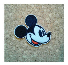 Mickey Mouse - Cool - Classic Side View - Retro - Embroidered Iron On Patch