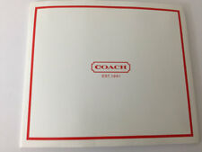 COACH Red Signature Logo Gift Box Vintage New