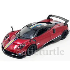 Kinsmart Pagani Huayra BC Livery Edition 1:38 Diecast KT5400DF Red with Stripes