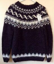 NWT Handknitting Association Iceland Wool Chunky Fisherman Sweater Measurements