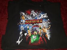 WWE WWF Summer Slam 25th Anniversary T-shirt Youth L Large 100% Cotton 2012