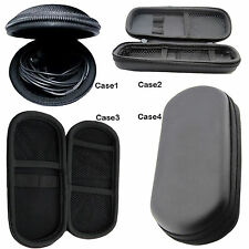 MICROPHONE HEADPHONE HEADSET SOFT LINED HARD SHELL PROTECTIVE CASES AND HOLDERS