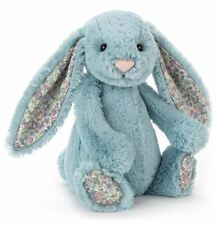 New Offical Jellycat Aqua Blossom Bunny Medium 28cm soft plush Toy, 31cm