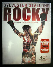 Rocky Heavyweight 40Th Anniversary Blu Ray Collection 6 Discs Brand New Sealed!