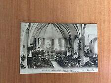 CPA : EGLISE DE SILLE-LE-GUILLAUME messe de la St Hubert