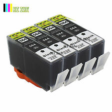 4PK Black Ink For HP 564XL PhotoSmart 7510 7520 5510 5520 6510 printer