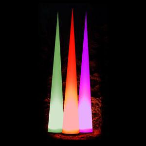 7m hoher Leuchtkegel Kegel Aircone Leuchtsäule Airdome LED Standalone oder DMX