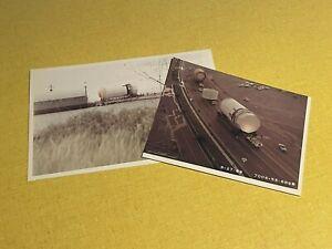 2 Original Apollo Saturn V Rocket Construction Trimmed Photos Rockwell NASA