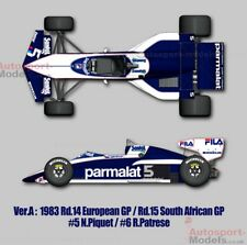 1/12 Brabham BT52B BMW Piquet/PATRESSE full détail Multi Media Model Kit MFH