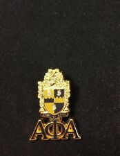 Alpha Phi Alpha Fraternity Crest with 3 Greek Letter Lapel Pin- New!