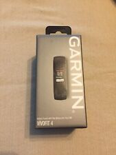 Garmin Vivofit 4 Activity Tracker Brand New in Box Black Size S-M