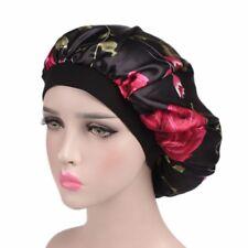 Wide Band Satin Bonnet Comfortable Night Sleep Hat Hair Cap Ladies Turban-bid