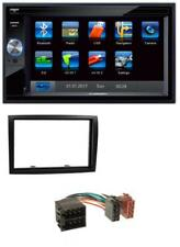 Blaupunkt SD Bluetooth 2DIN MP3 USB Autoradio für Fiat Ducato Citroen Jumper Peu