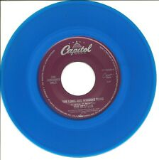 """The Beatles-The Long And Winding Road/For You Blue-blue vinyl-45 RPM-7""""-single-"""