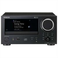 ONKYO Network CD Receiver CR-N775-B BLACK Domestic genuine products 4573211 NEW