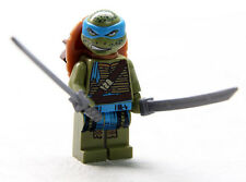 LEGO Leonardo w/Swords Scabbard 79117 Turtle Lair Invasion Minifig NEW Exclusive