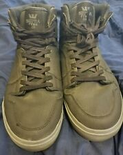 Supra skate shoes Men's Size 12 Pre-owned Great Condition