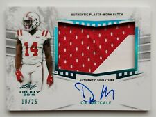 2019 Leaf Trinity Football 18/25 D.K. Metcalf Auto-Jersey Card