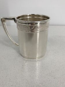 """Antique Silver Gorham Co. Soldered Cup W """"Alice"""" Engraved On It"""