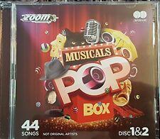 ZOOM KARAOKE CDG   THE MUSICALS   Discs. 1 & 2.   44  tracks  Alladin Frozen etc