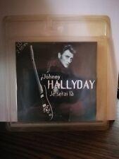 """JOHNNY HALLYDAY  CD 2 titrres """"Je serai là"""" Scellé"""