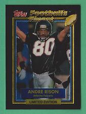 1992 Topps Football's Finest Andre Rison Atlanta Falcons #23