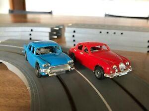 TRIANG Minic Motorways vintage 60, Humber, jaguar