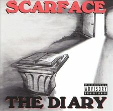 The Diary [PA] by Scarface (CD, Aug-2002, Rap-A-Lot) NO FRONT BOOKLET