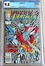 DEATHLOK #1 CGC 9.8 -  Metallic Silver Ink Edition