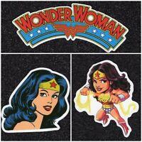 Wonder Woman Vinyl Sticker Lot (2 options)