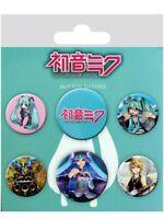 Anstecker-Paket Hatsune Miku Mix