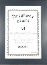Photo Picture Frames Frame Poster Black Walnut White Oak Wood Glass A3 A4 A5 8X8