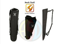 Buck Trail Archery Traditional Back Quiver Camo or Black