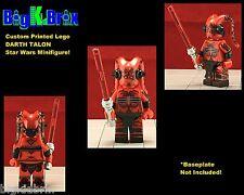 DARTH TALON Sith Custom Printed Star Wars LEGO Minifigure