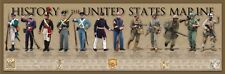 History of the United States Marine Print 36x11.75