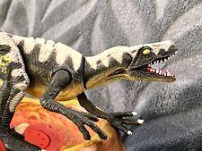 Jurassic Park Velociraptor Jp13 Dinosaur Figure 1997 action works perfectly 026