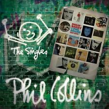 PHIL COLLINS THE SINGLES DOUBLE VINYL LP (Greatest Hits) (Released 8/6/2018)