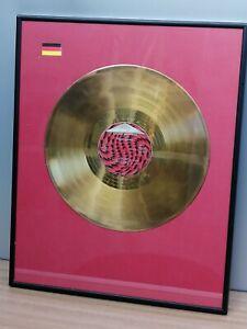 Goldene Schallplatte Power Brother Magic Affair Omen III Award Vinyl Single