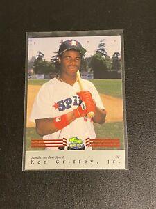 1992 CLASSIC BEST RED FOIL #BC12 KEN GRIFFEY JR SP San Bernardino