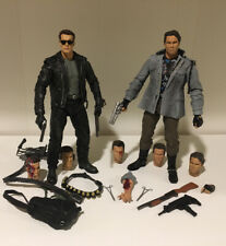 Neca 7� Tech Noir T-800 & Terminator 2 T-800 Ultimate Edition