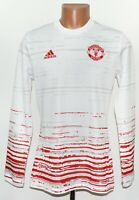 MANCHESTER UNITED 2016/2017 TRAINING FOOTBALL JERSEY ADIDAS SIZE S ADULT