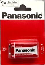 PANASONIC 6F22 9V BATTERIES ZINC CARBON BATTERY FOR LOW POWER PRODUCTS
