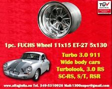 1 Cerchio Porsche 911 11x15R ET-27 Turbo 3.0/3.3 polished Felge Wheel TUV jante